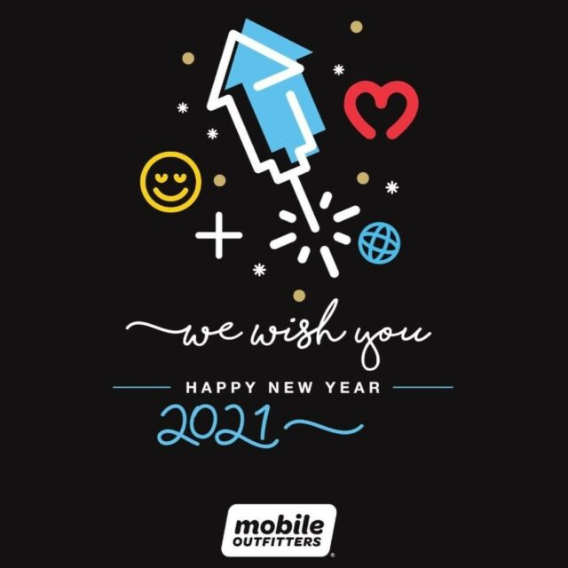 From our global Mobile Outfitters family in 50+ countries, we wish you a Happy New Year! #mobileoutfitters #happynewyear2021  📸 @mobileoutfittersgcc